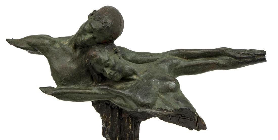 JOSEPH BOFILL (SPAIN, B.1942) BRONZE SCULPTURE - 3