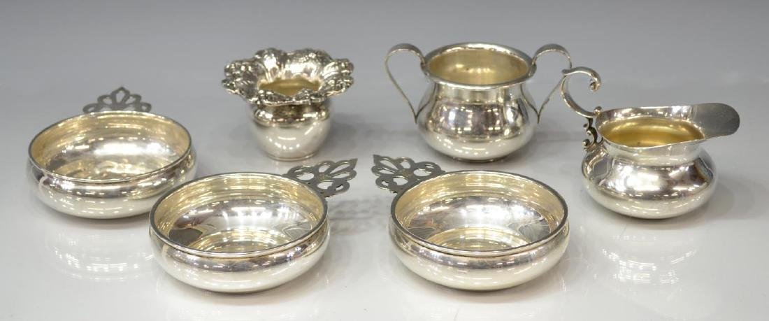 (6) COLLECTION OF STERLING SILVER TABLEWARE