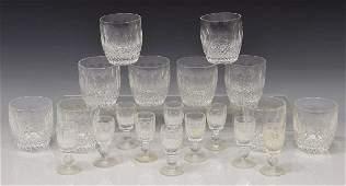 20 WATERFORD COLLEEN CRYSTAL DRINKWARE