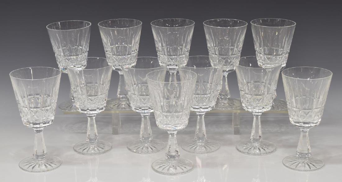 (12) WATERFORD 'KYLEMORE' STEMWARE WATER GOBLETS