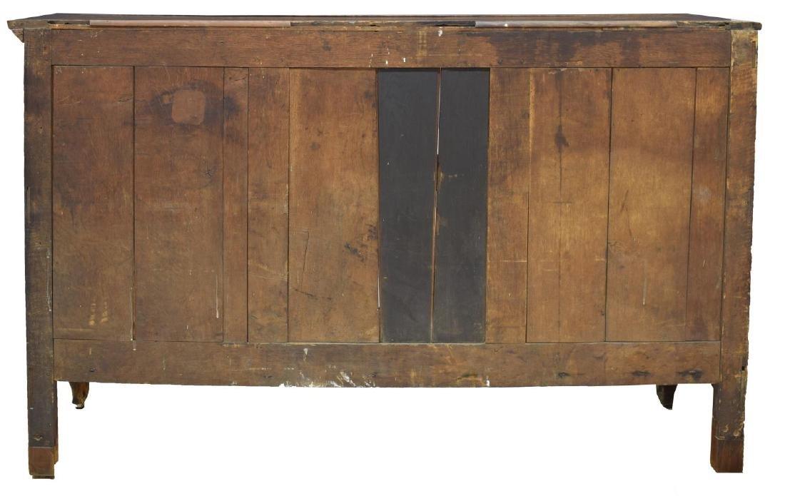 FRENCH OAK TRIPLE DOOR SIDEBOARD - 4