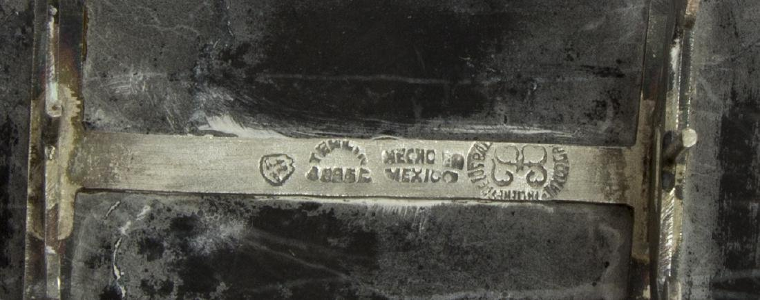 LOS BALLESTEROS MEXICO STERLING SILVER SHIP MODEL - 6