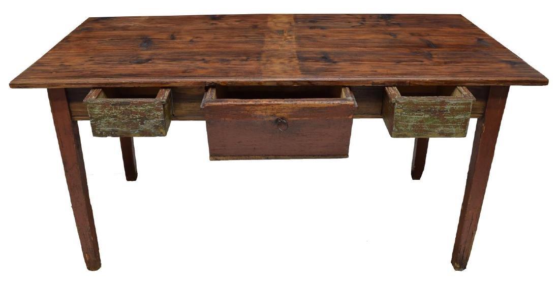 VINTAGE DANISH PINE WORK TABLE - 2