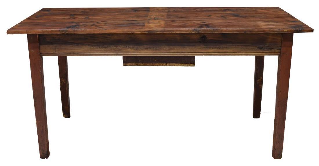 VINTAGE DANISH PINE WORK TABLE - 3