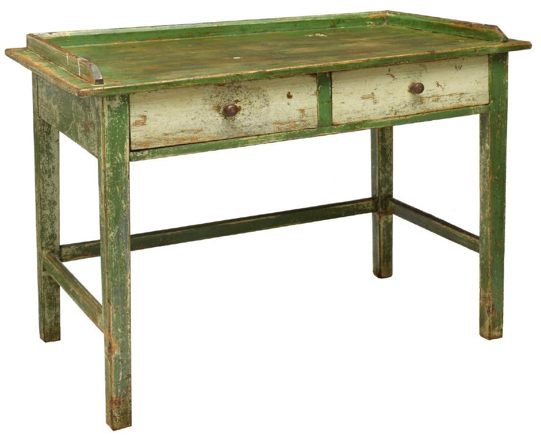 SCANDANAVIAN PAINTED PINE WORK TABLE