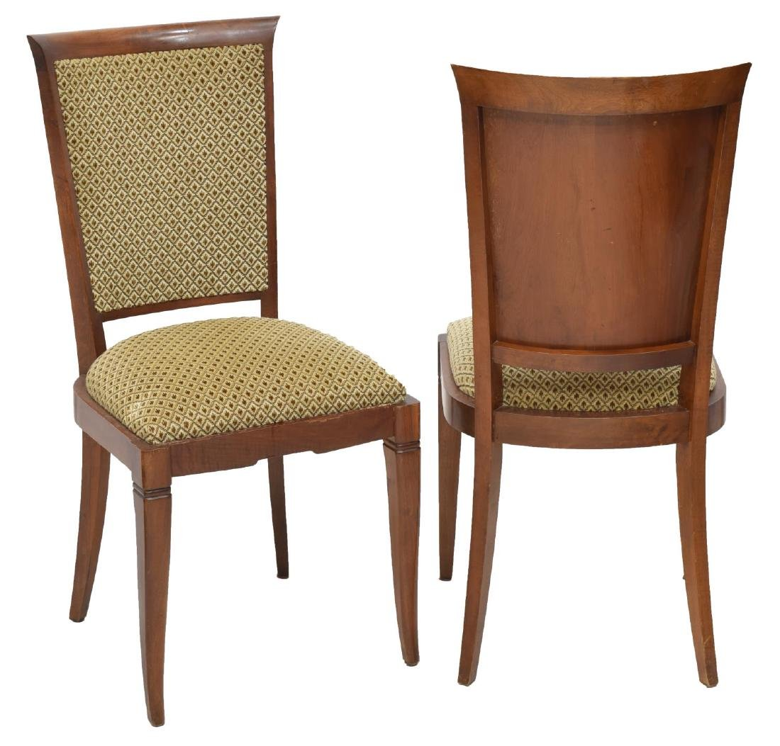 (6) FRENCH LOUIS XV STYLE MAHOGANY DINING CHAIRS - 2