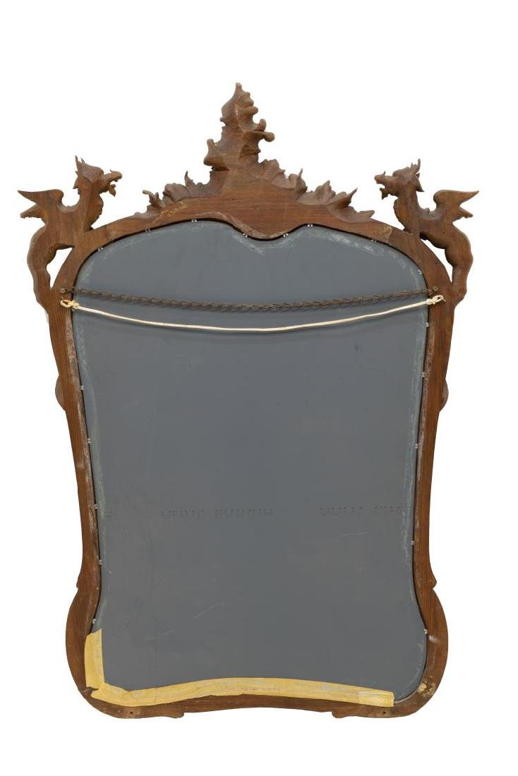 FRENCH RENAISSANCE REVIVAL WINGED GRIFFIN MIRROR - 3