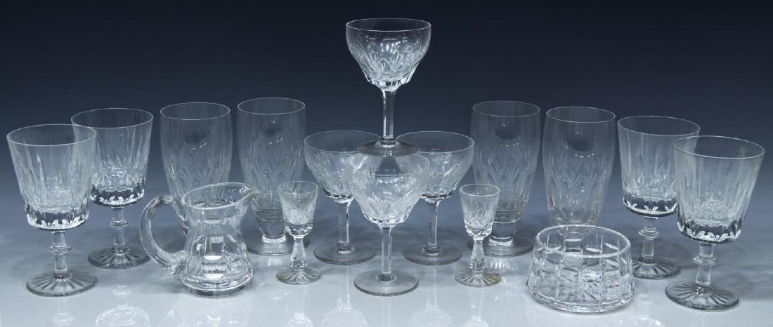 (16) CRYSTAL DRINKWARE, WATERFORD, STUART, BRISTOL