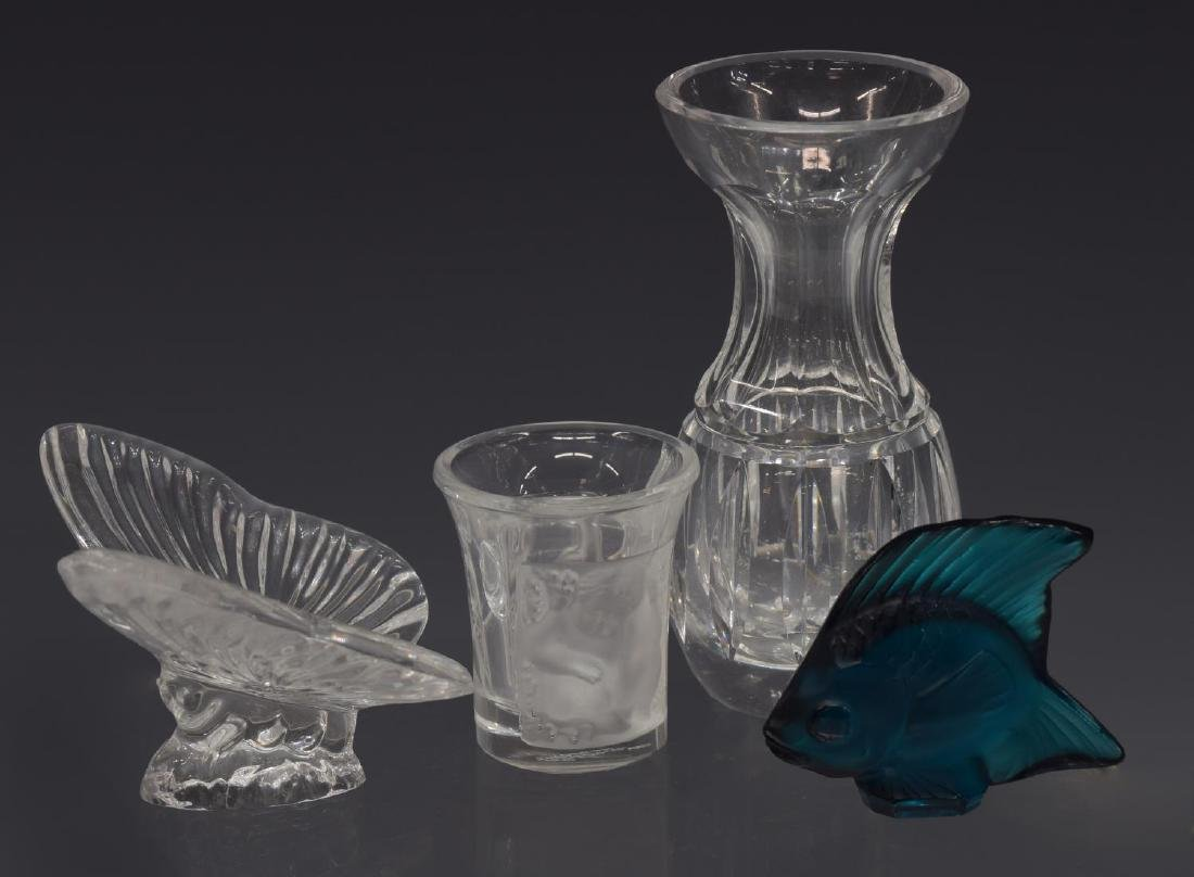 (7) LALIQUE, BACCARAT, WATERFORD CRYSTAL GROUP - 2
