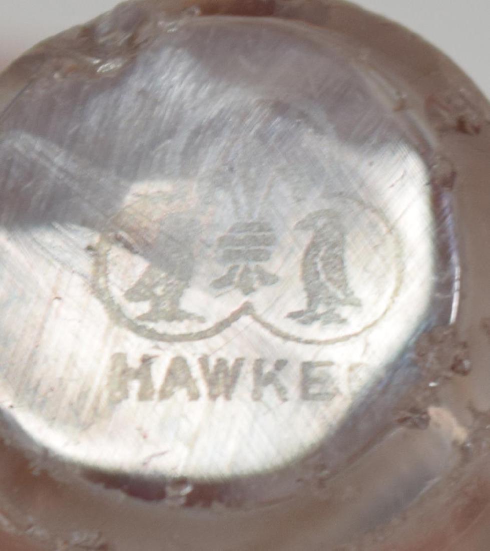 (2) AMERICAN BRILLIANT PERIOD CUT-GLASS TABLEWARE - 4