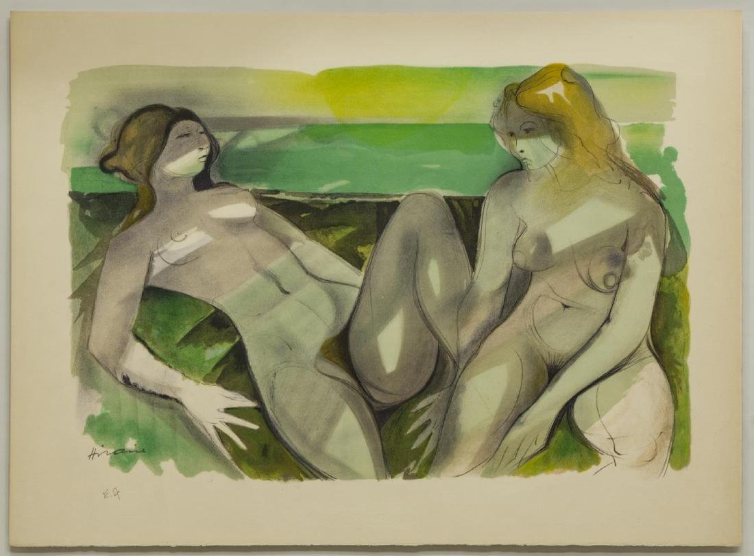 CAMILLE HILAIRE (1916-2004) FRAMED LITHOGRAPH