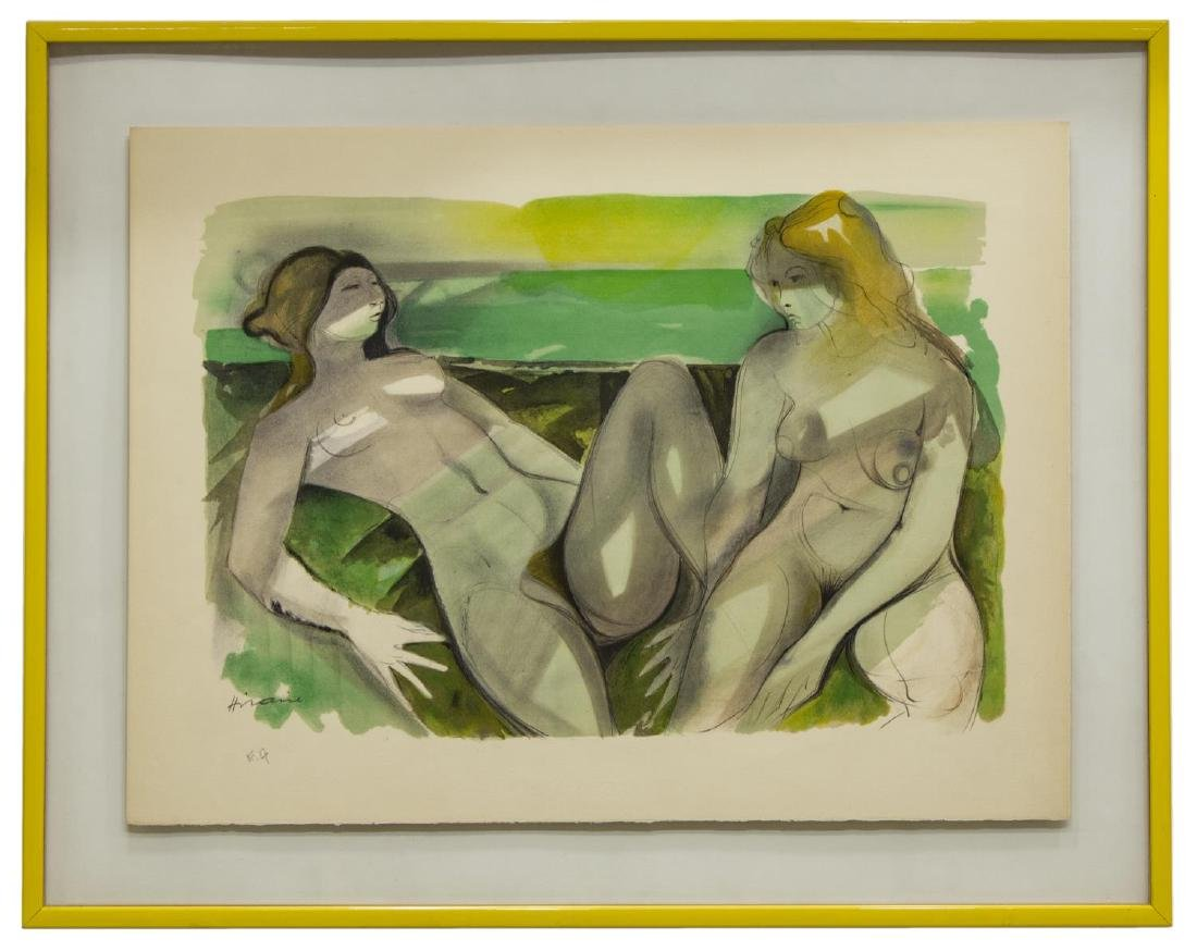 CAMILLE HILAIRE (1916-2004) FRAMED LITHOGRAPH - 2
