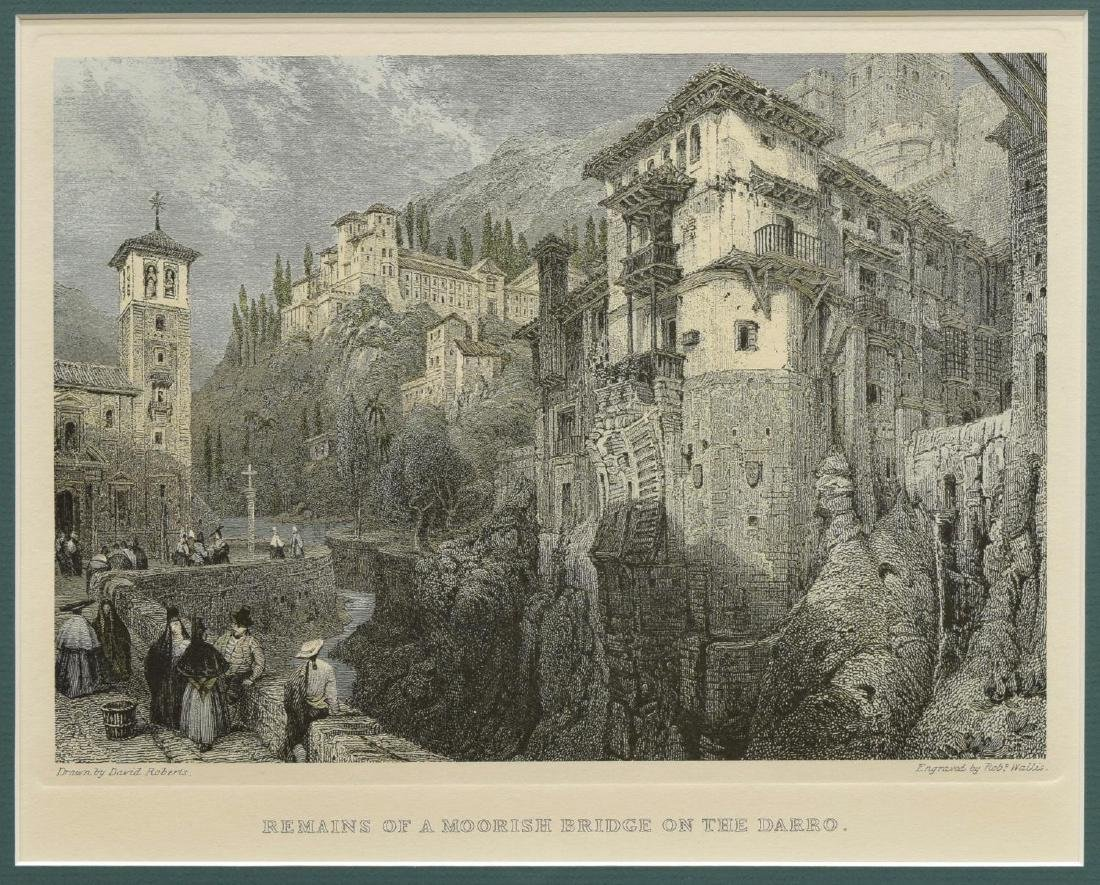 (4) FRAMED ENGRAVINGS AFTER DAVID ROBERTS (D.1864) - 5