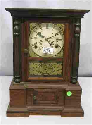 ANTIQUE CLOCK LONDON MODEL INCLUDES PENDULM. PART