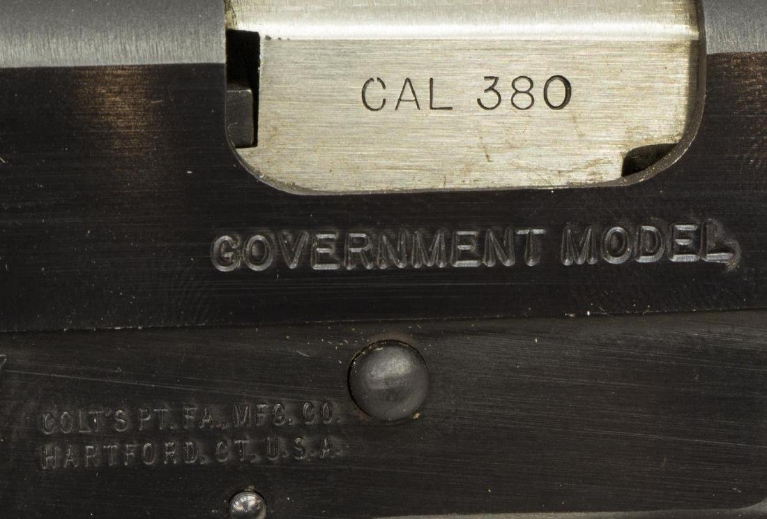 COLT MK IV GOVERNMENT MODEL .380 PISTOL - 4