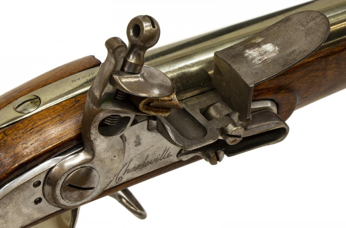 NAVY ARMS CHARLEVILLE FLINTLOCK REPRODUCTION RIFLE - 9