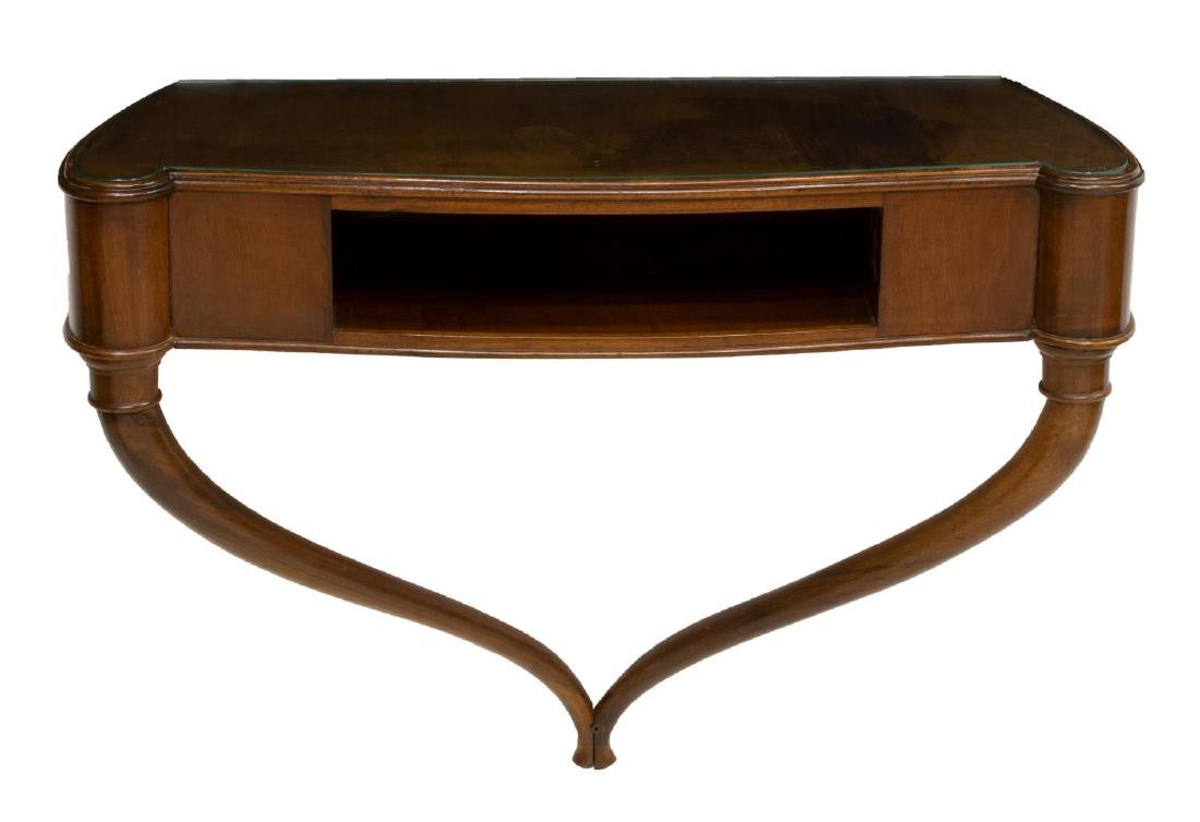 ITALIAN MID-CENTURY WALL CONSOLE TABLE OR BRACKET