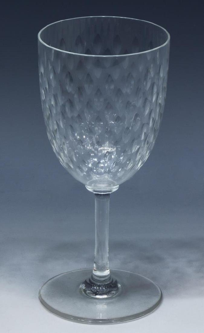 (9) BACCARAT 'PARIS' CRYSTAL TALL WATER GOBLETS - 2