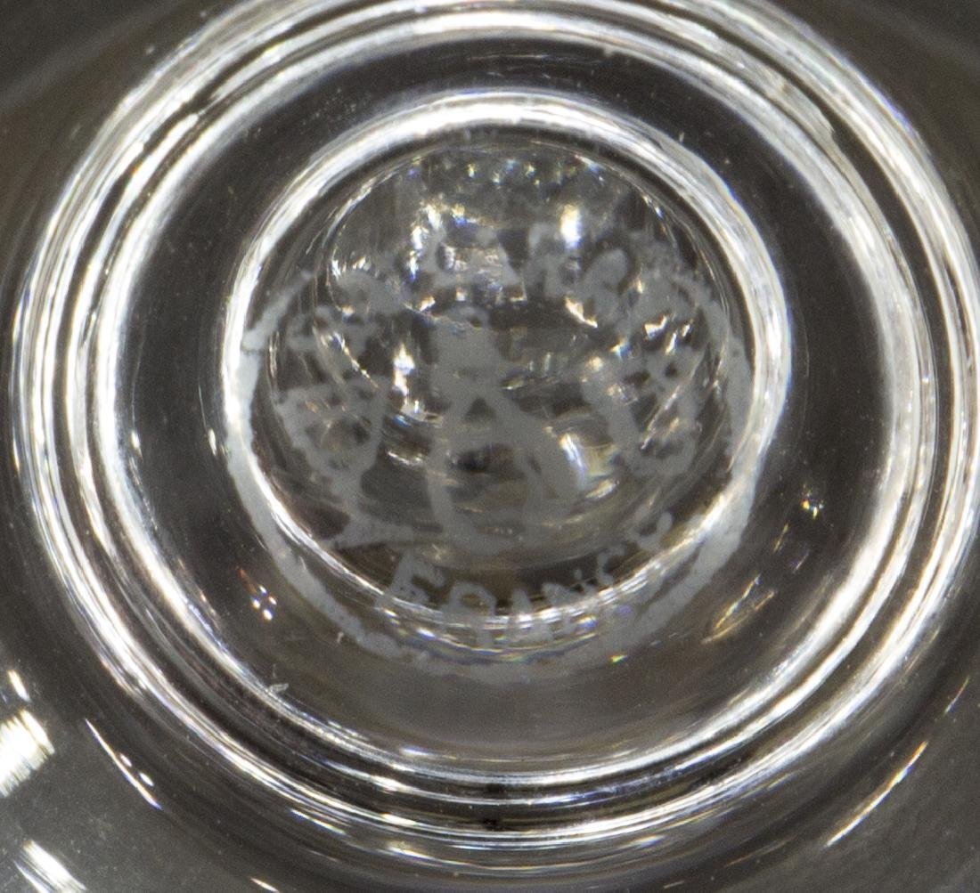 (9) BACCARAT 'PARIS' CRYSTAL TALL WATER GOBLETS - 3