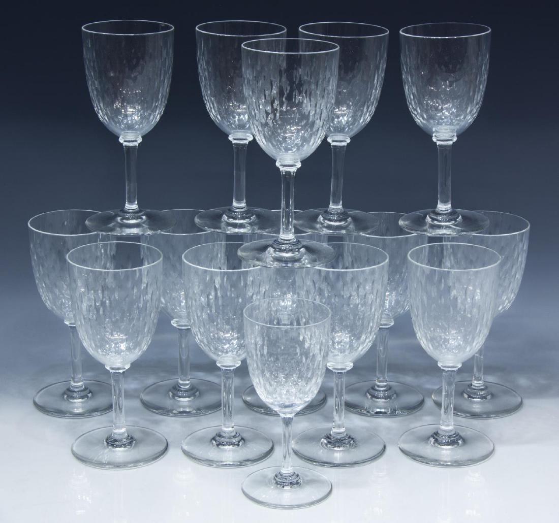 (15) BACCARAT 'PARIS' CLARET & PORT WINE GLASSES