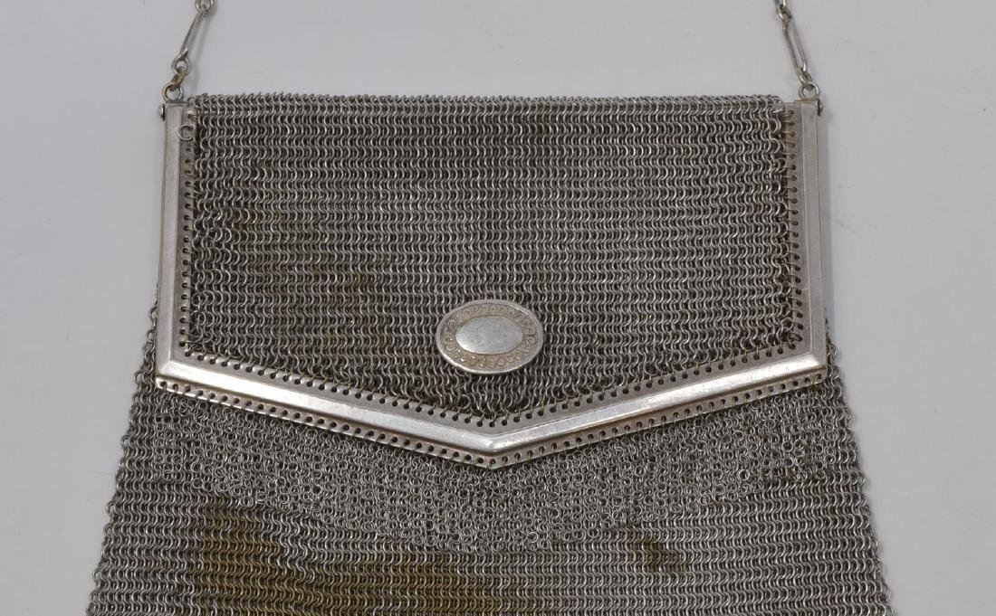 3) WHITING DAVIS & OTHER STERLING SILVER MESH BAGS - 3