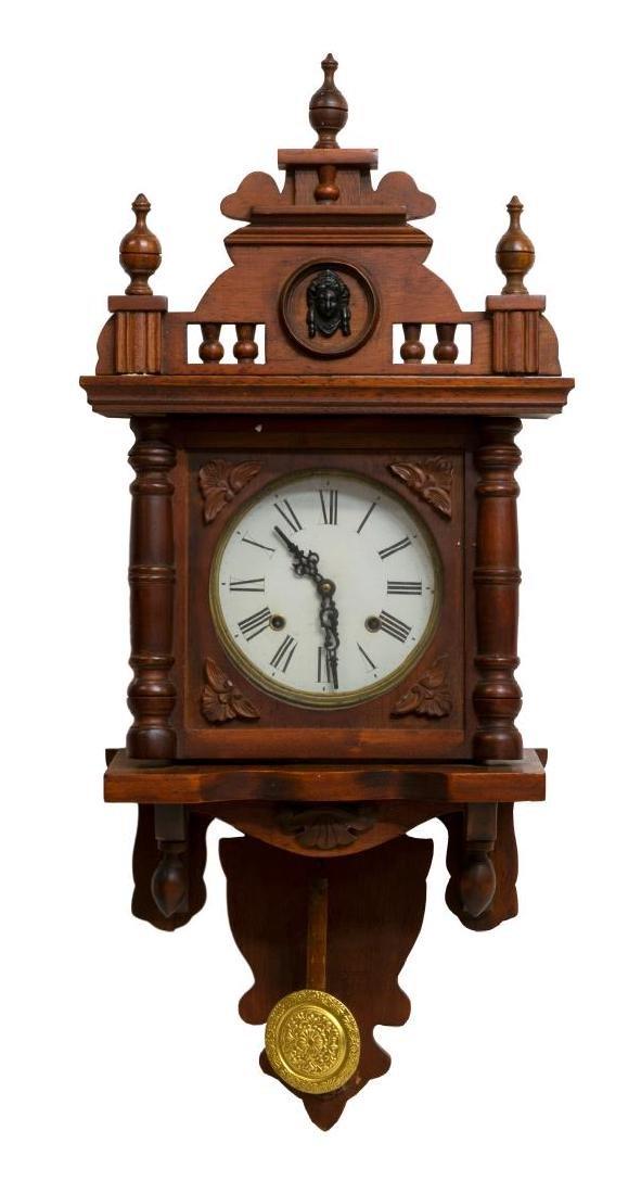 CONTINENTAL REGULATOR WALL CLOCK