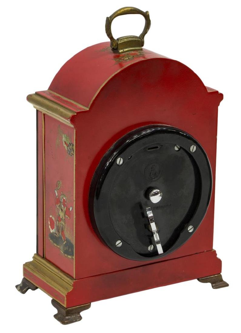 (2)TIFFANY & CO. MINIATURE BRACKET CLOCKS, OPERATE - 4