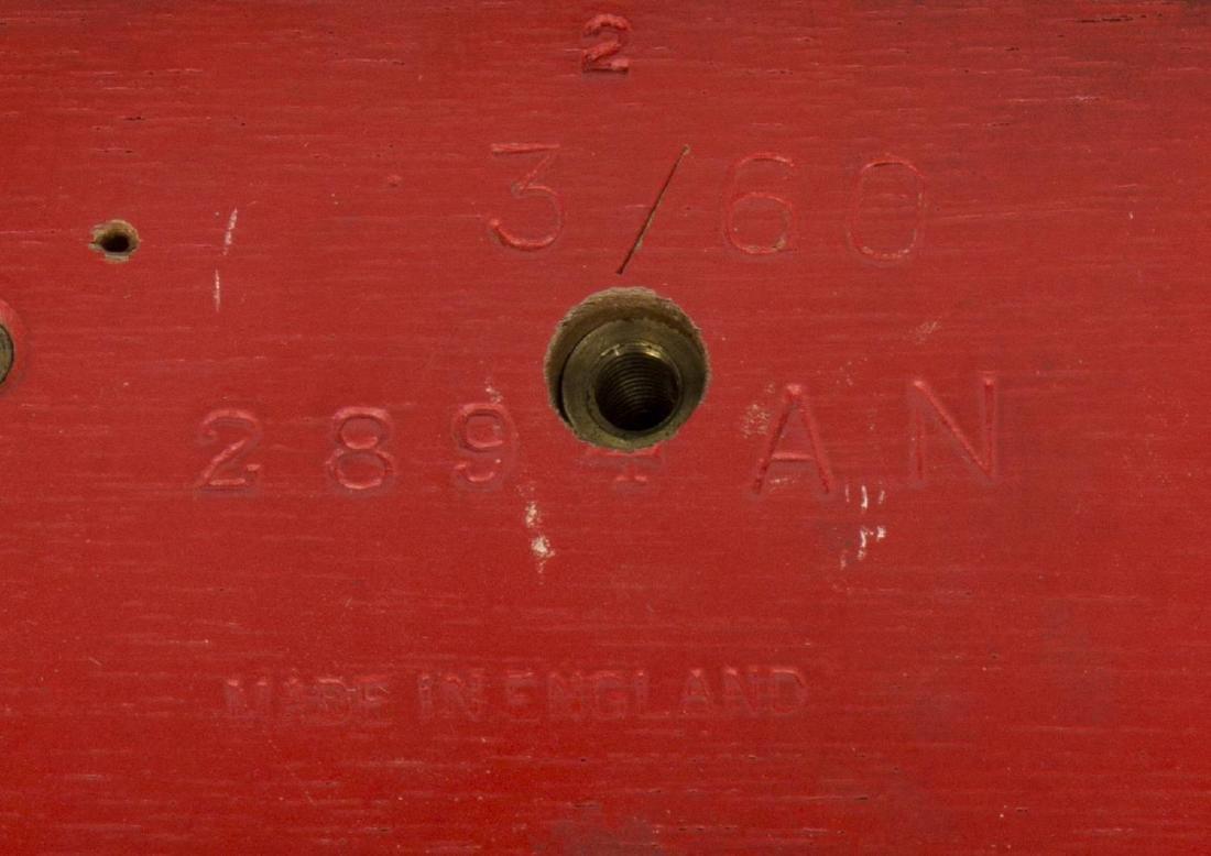 (2)TIFFANY & CO. MINIATURE BRACKET CLOCKS, OPERATE - 5