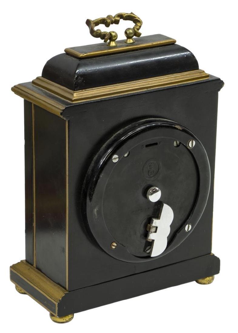 (2)TIFFANY & CO. MINIATURE BRACKET CLOCKS, OPERATE - 8