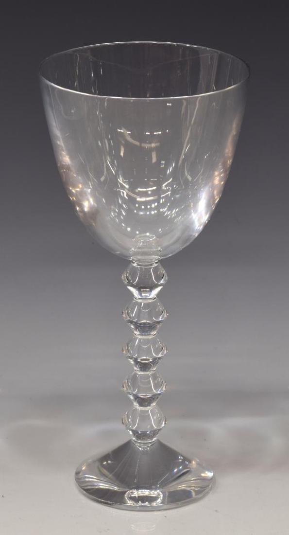 (10) BACCARAT 'VEGA' CRYSTAL CLARET WINE GLASSES - 2