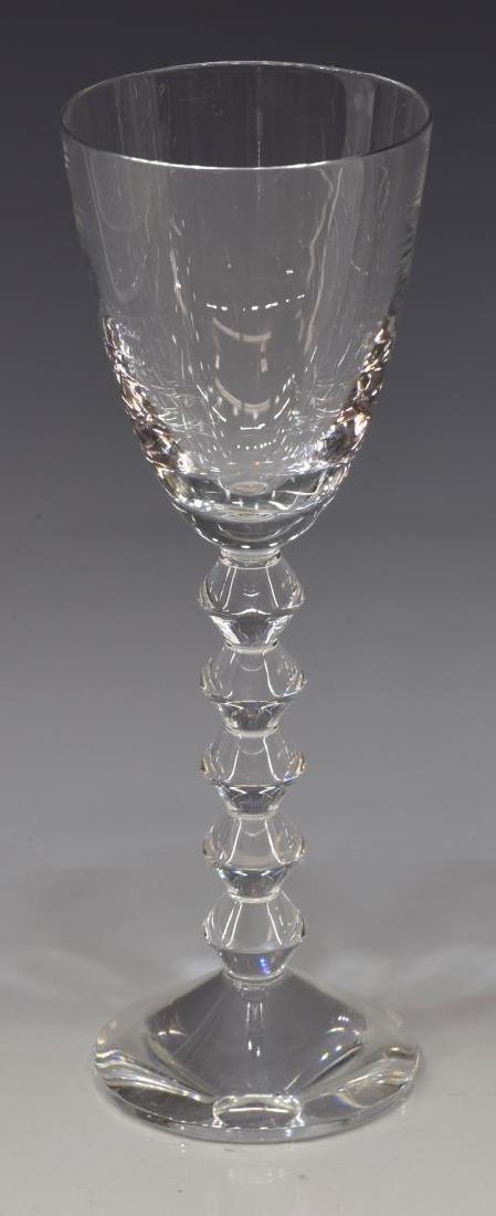 (9) BACCARAT 'VEGA' CRYSTAL RED WINE GLASSES - 2