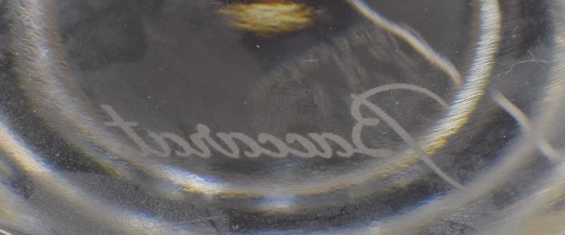 (9) BACCARAT 'VEGA' CRYSTAL RED WINE GLASSES - 3