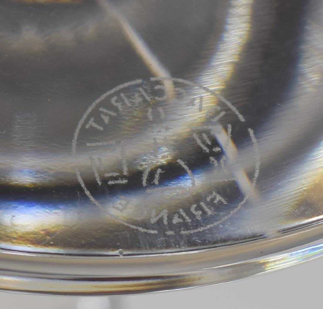 (9) BACCARAT 'VEGA' CRYSTAL RED WINE GLASSES - 4