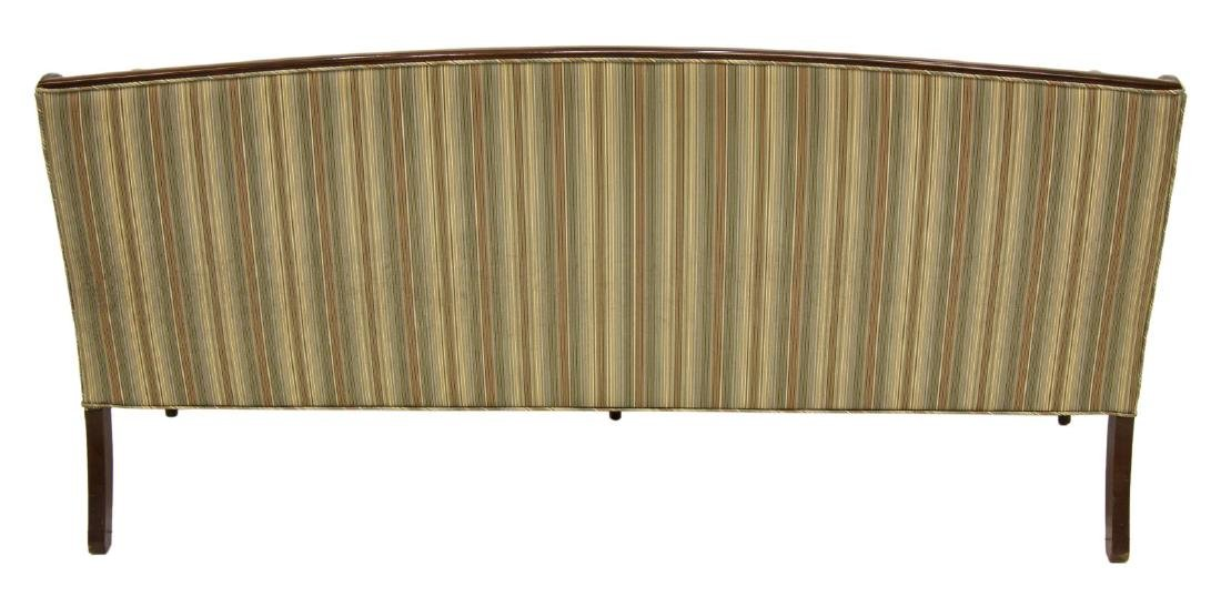 SHERATON STYLE UPHOLSTERED DOWN FILLED SOFA - 3