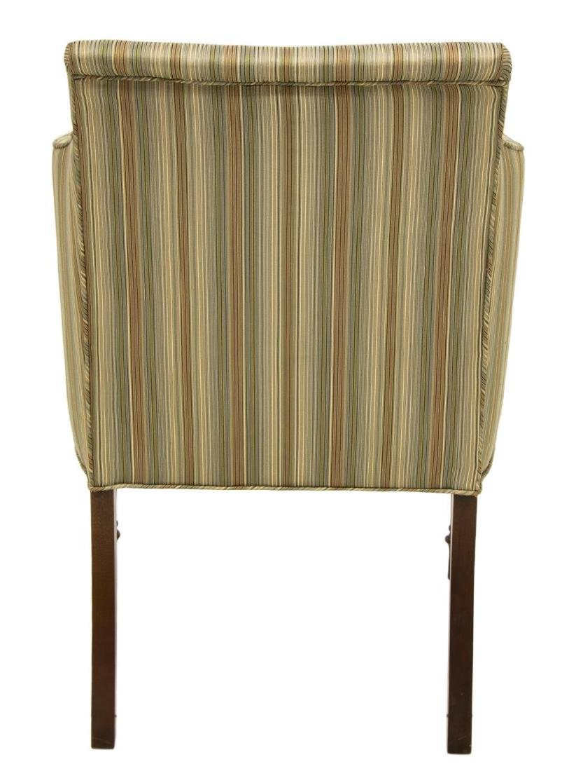 SHERATON STYLE UPHOLSTERED ARMCHAIR - 3