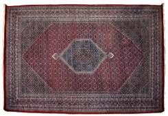 INDO-PERSIAN BIDJAR WOOL RUG, APPROX 12' x 18'