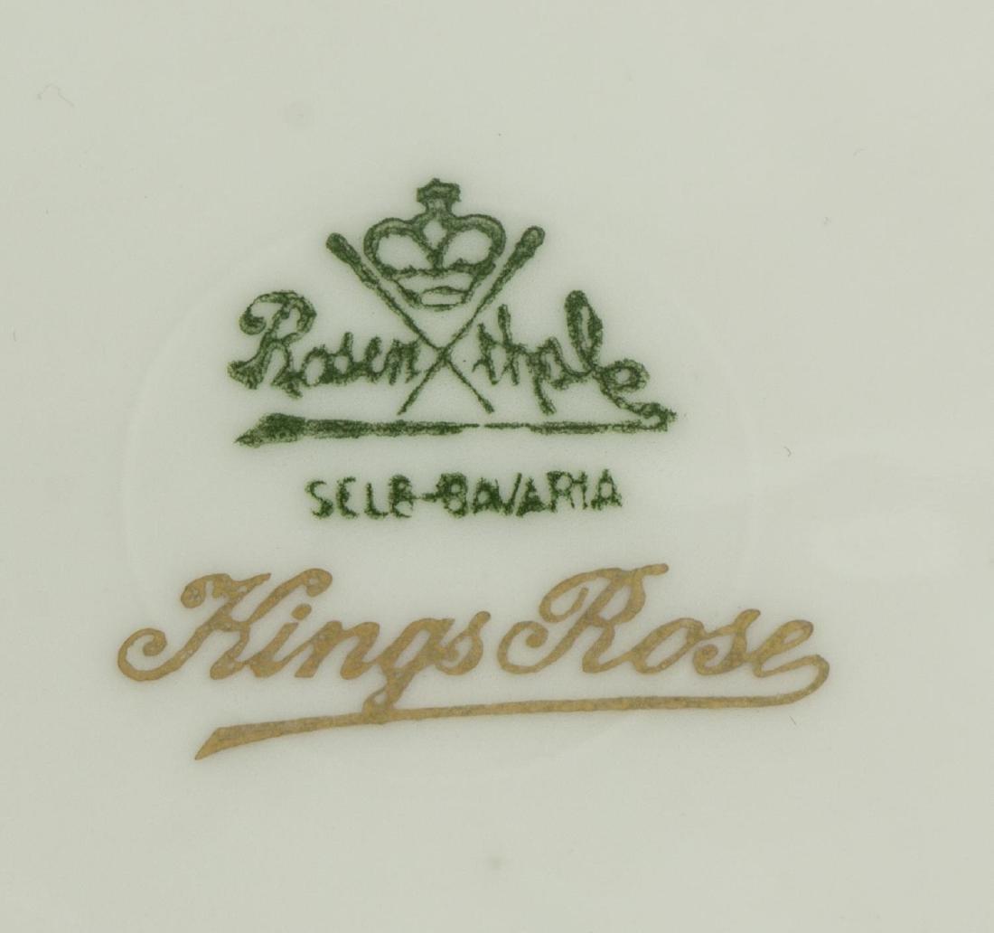 (20) ROSENTHAL KINGS ROSE & IMARI PORCELAIN PLATES - 4