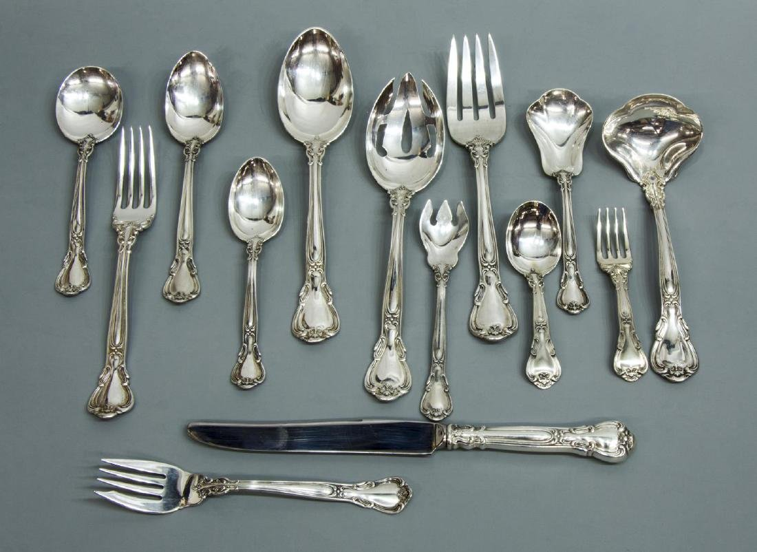 (72) GORHAM 'CHANTILLY' STERLING SILVER FLATWARE - 3