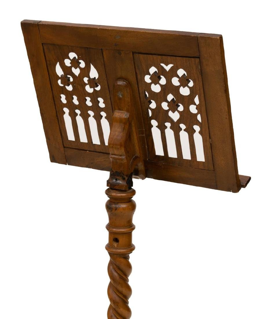 CONTINENTAL GOTHIC STYLE LECTERN OR MUSIC STAND - 3