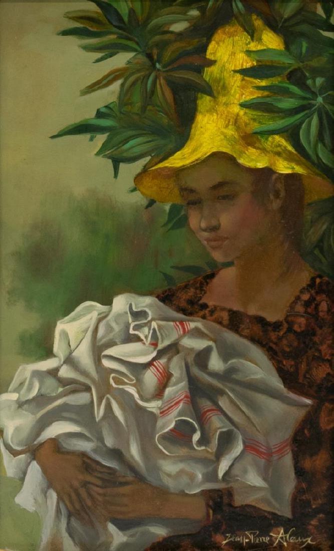 JEAN PIERRE ALAUX (FRANCE, b. 1925) WOMAN IN HAT