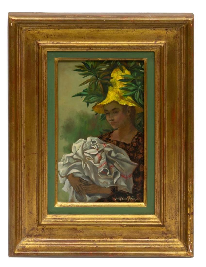 JEAN PIERRE ALAUX (FRANCE, b. 1925) WOMAN IN HAT - 2
