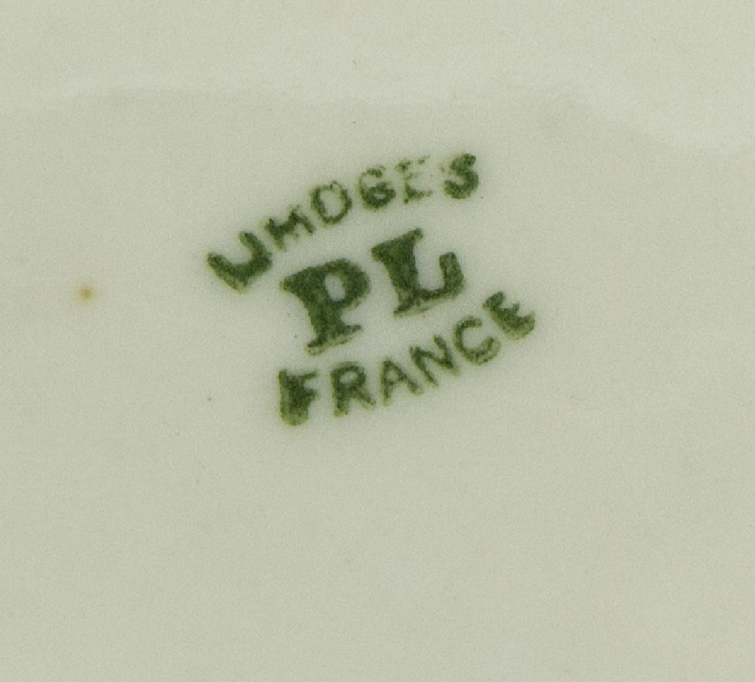 (79) FRENCH PL LIMOGES PORCELAIN DINNER SERVICE - 4