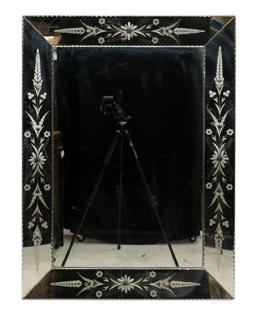 FRENCH DECORATIVE WALL MIRROR