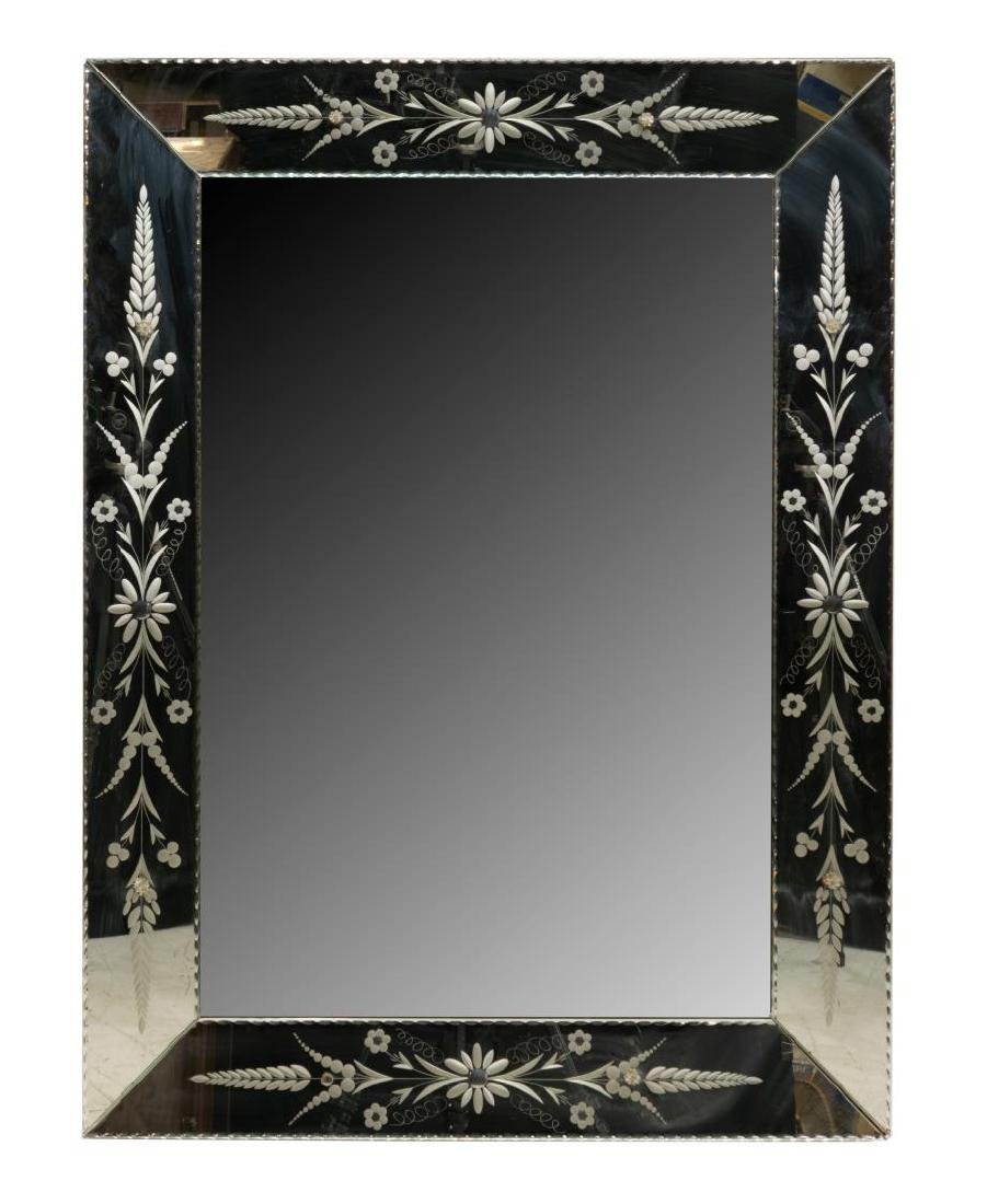FRENCH DECORATIVE WALL MIRROR - 3