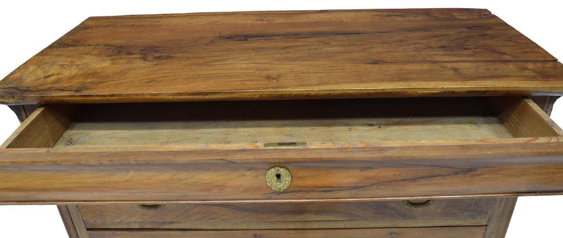 LOUIS PHILIPPE PERIOD WALNUT CHEST OF DRAWERS - 3