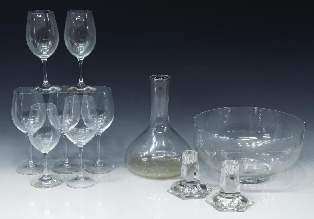 (11) TIFFANY & RIEDEL GLASSWARE