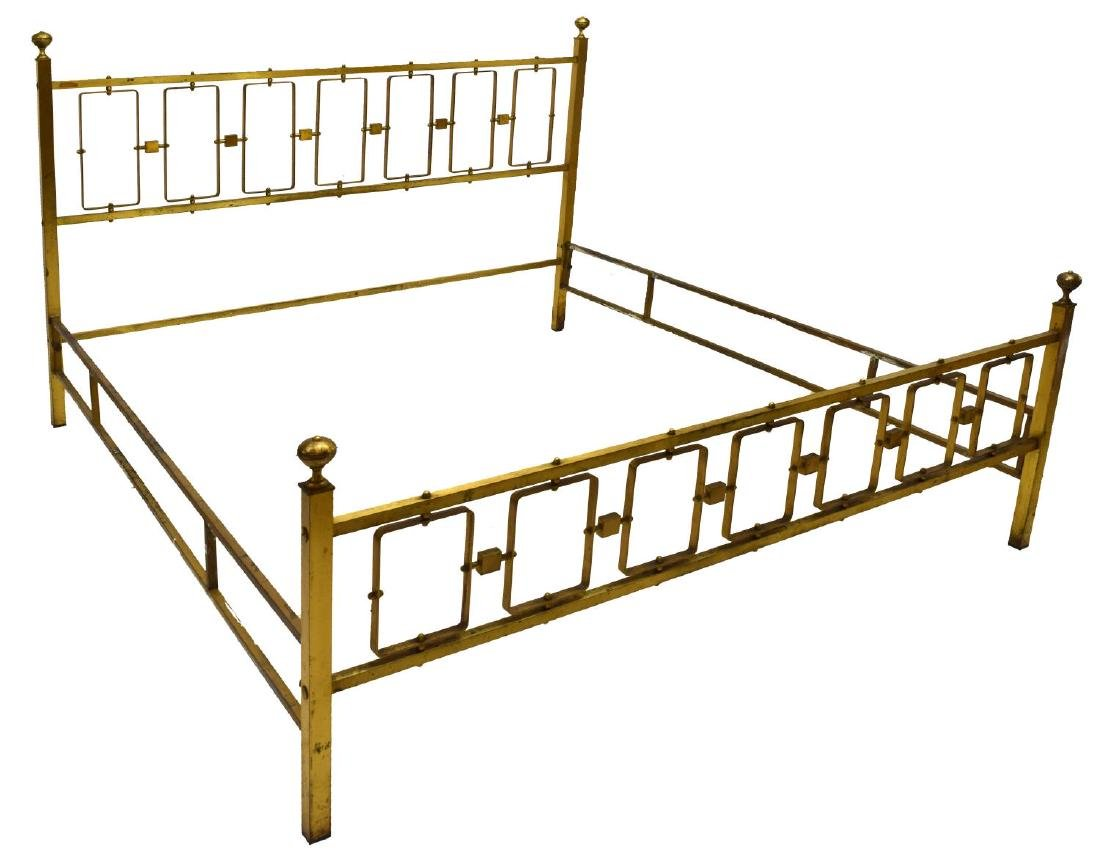 VINTAGE BRASS BED