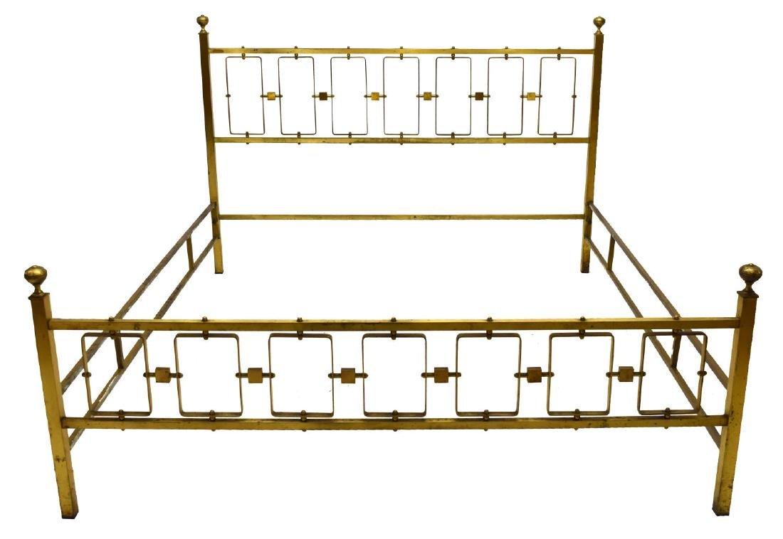 VINTAGE BRASS BED - 2