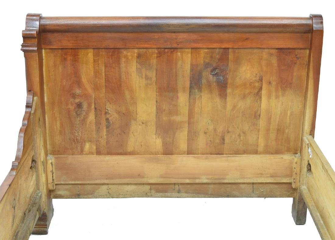 LOUIS PHILLIPPE FRUITWOOD ALCOVE BED, 19THC. - 2