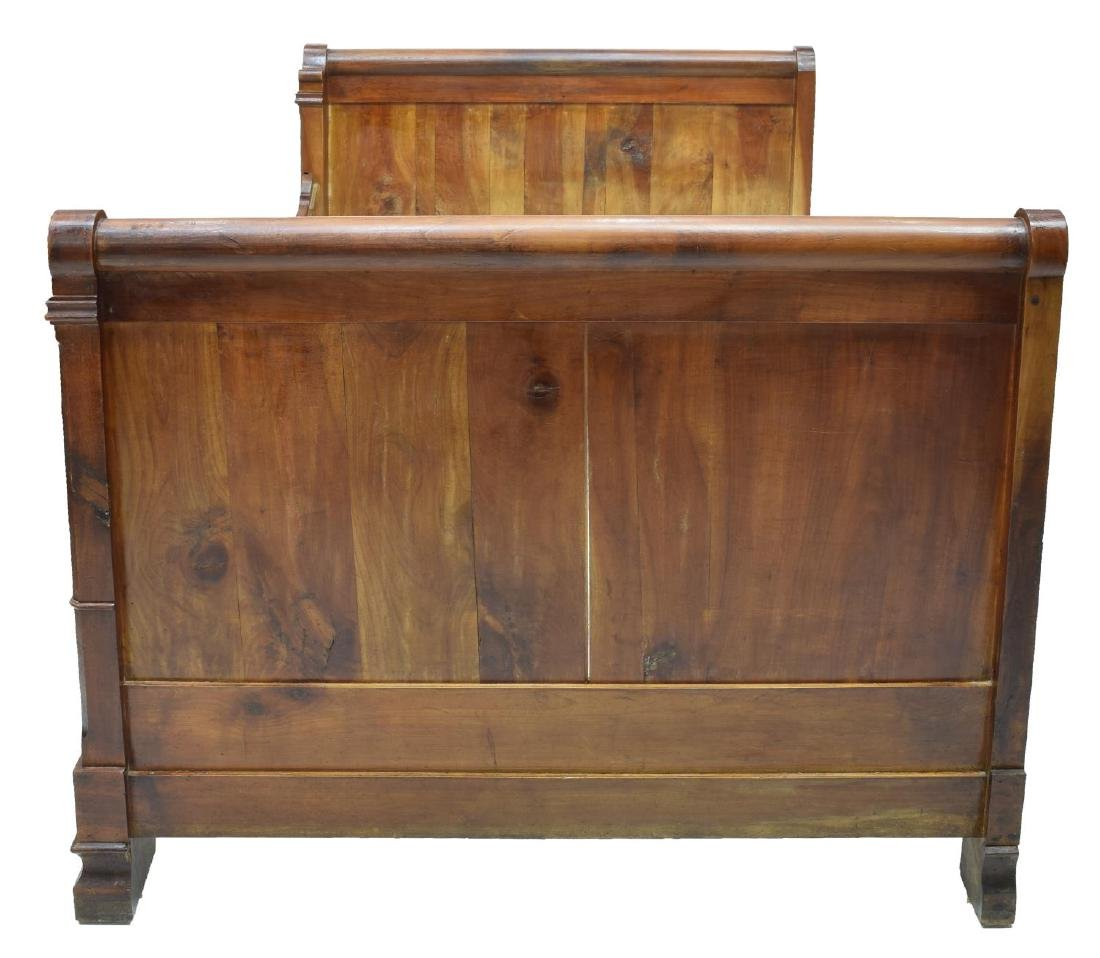 LOUIS PHILLIPPE FRUITWOOD ALCOVE BED, 19THC. - 3